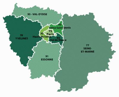 paris region ile de france