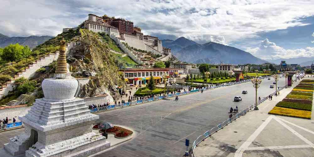partir au tibet
