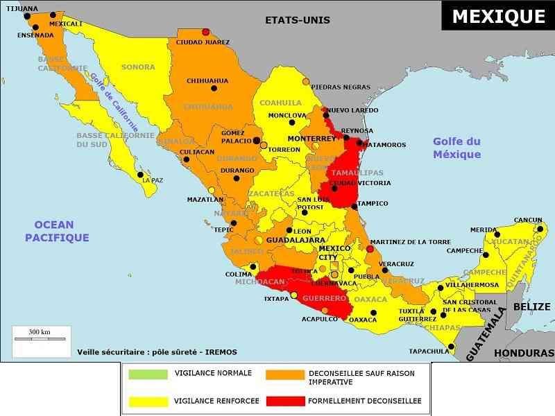 petit sejour au mexique