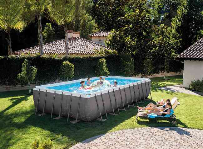 piscine gonflable photos et images