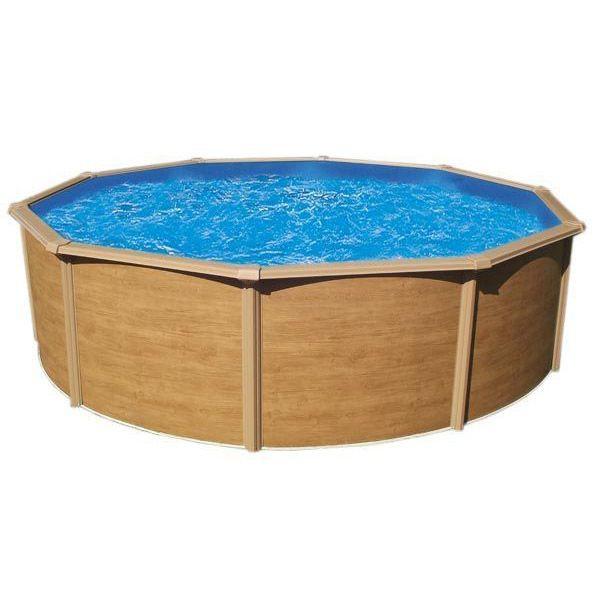 piscine hors sol acier metal ou bois