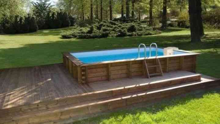 piscine hors sol images et photos