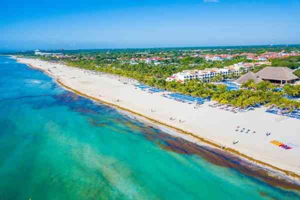 playa del carmen mexique