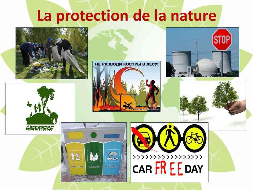 protection de la nature