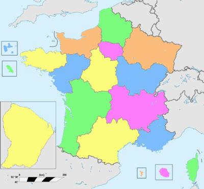 regions francaises