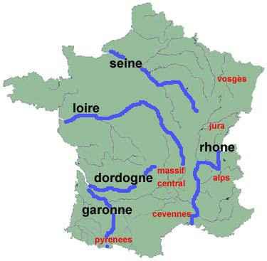 rivieres de france