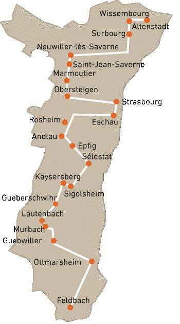 routes touristiques historiques