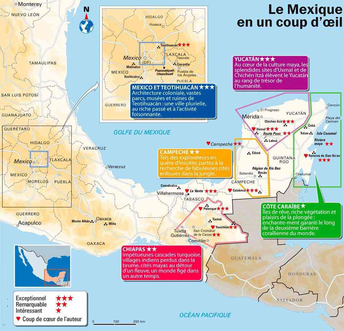 sites touristiques mexique