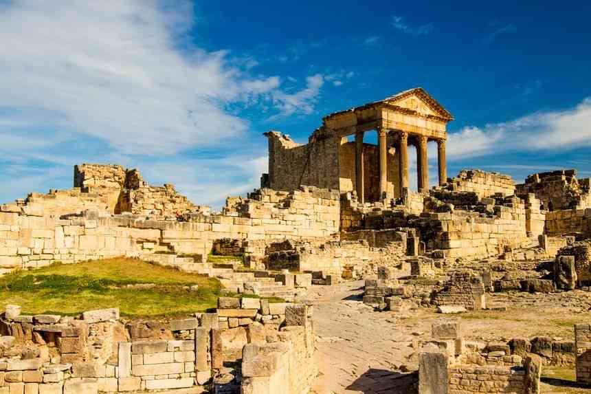sites touristiques tunisie