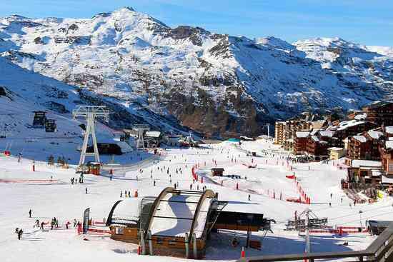 ski a val thorens