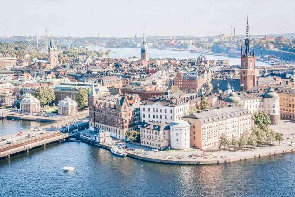 stockholm week end en suede