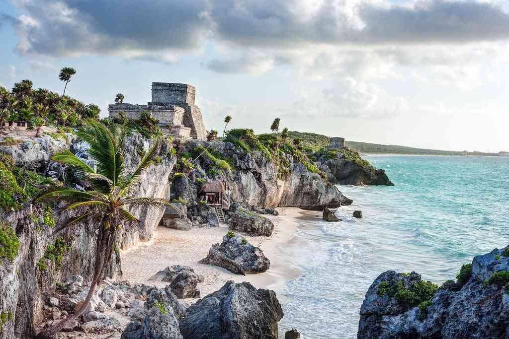 tulum ruines en bord de mer