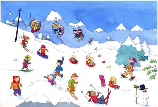vacances a la neige