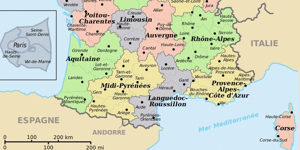 vacances france region sud