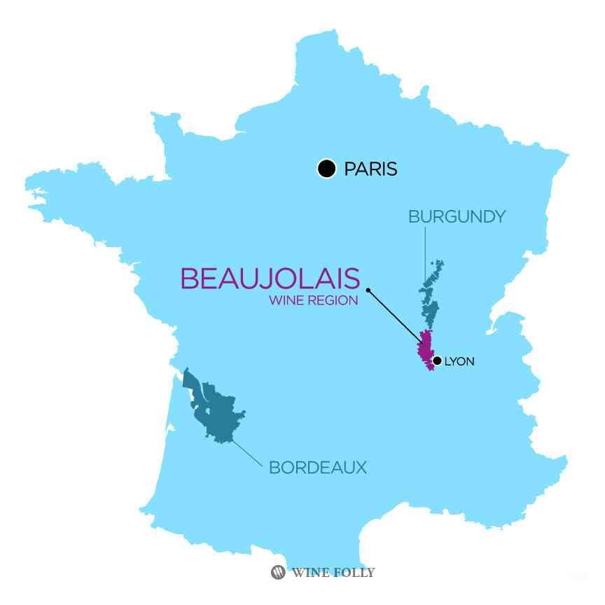 visite du beaujolais france