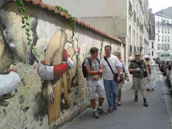 visite les murs de belleville