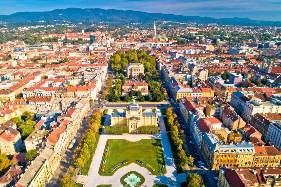 visiter zagreb croatie