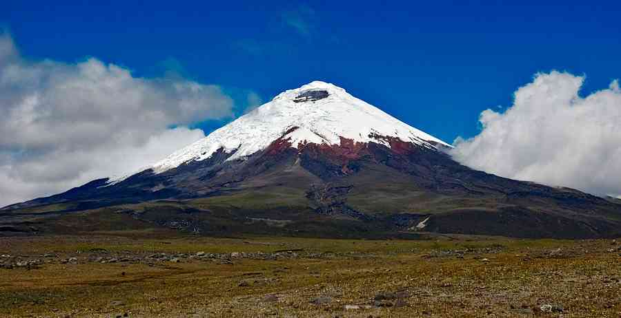 volcan en equateur