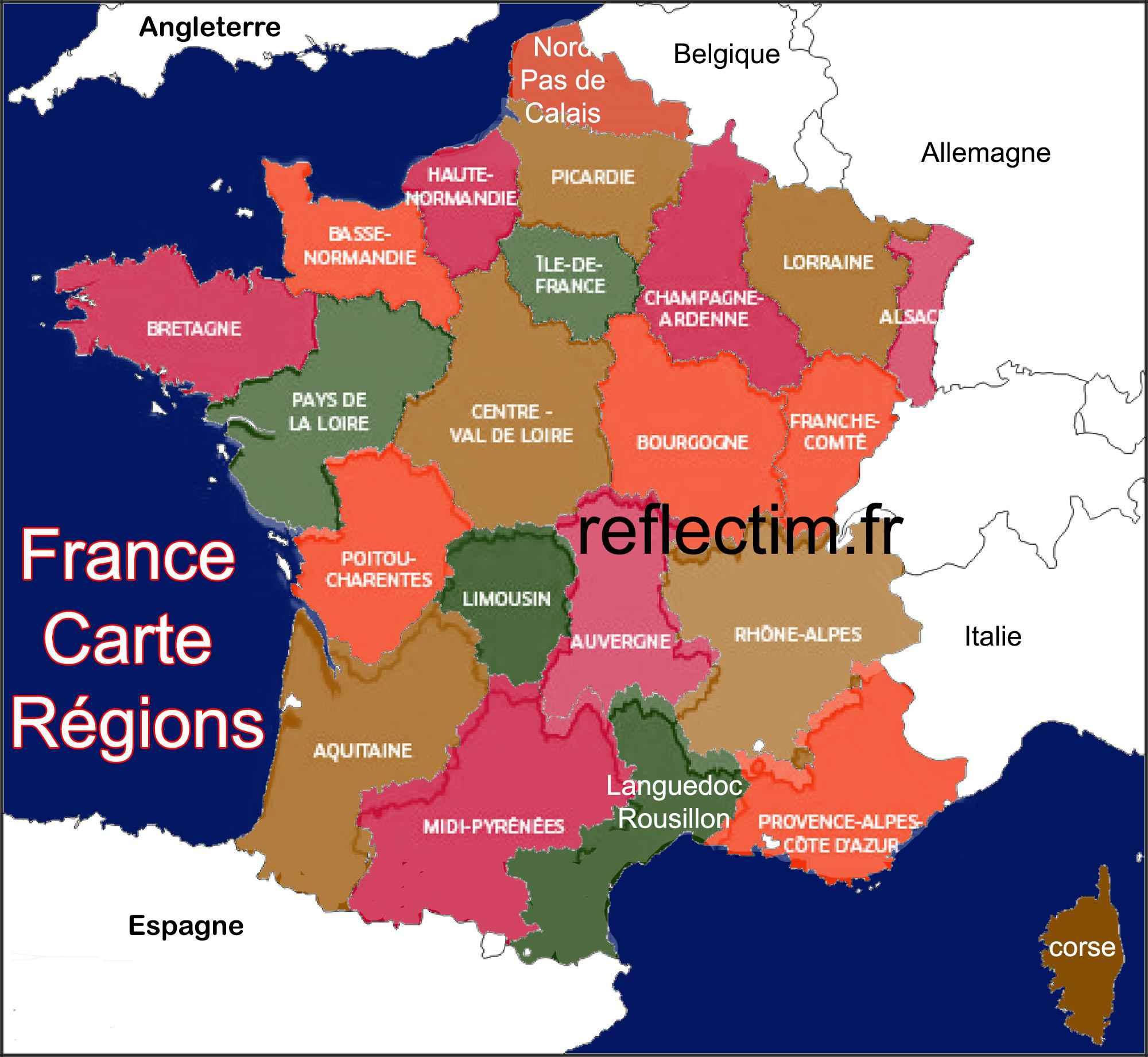 voyage region de france