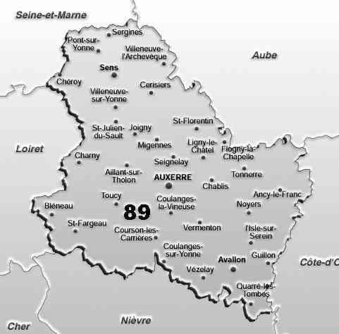 yonne departement 89
