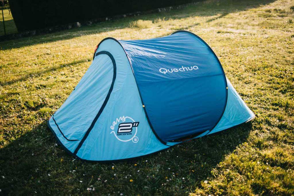 Nouvelle tente 2 secondes easy de Quechua