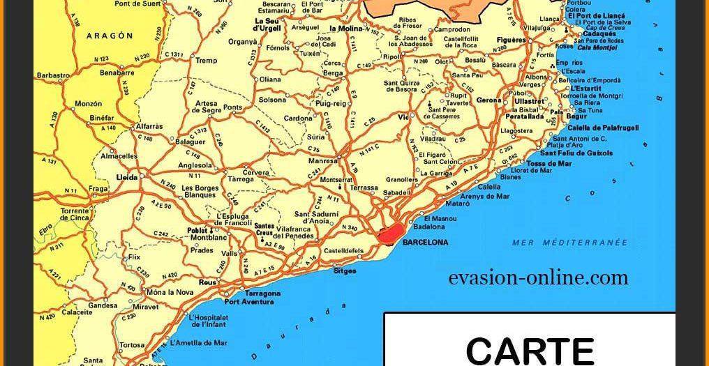 Carte Espagne Costa - Images » Vacances - Guide Voyage