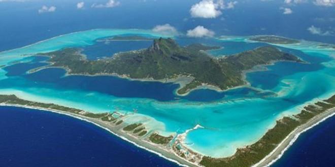 Bora Bora - Vue du ciel