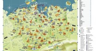 Bretagne tourisme - Carte