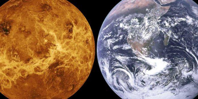 Planète Vénus - Planète Terre