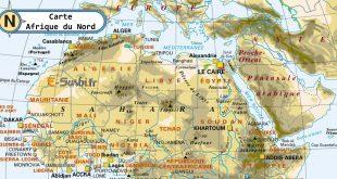 Carte Afrique du Nord
