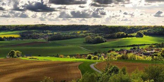 paysage de Picardie