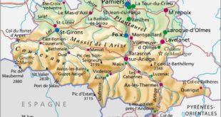 Carte Ariège