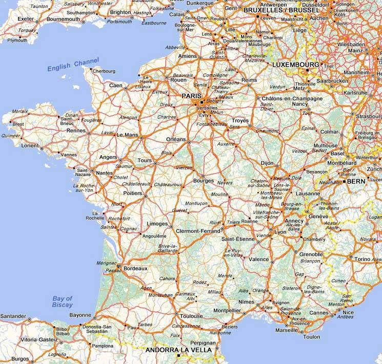 carte de france routière pdf Vacances   France   Carte routière » Vacances   Arts  Guides Voyages