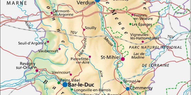 Meuse-Département 55