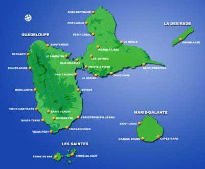 Iles de la Guadeloupe