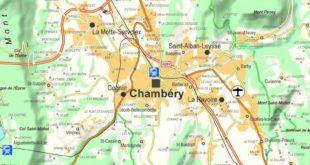 Chambéry - Carte
