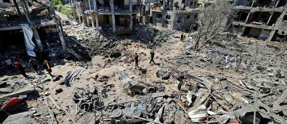 il y a 1 heure Le Point Israël pilonne la bande de Gaza