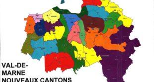 Carte du Val de Marne