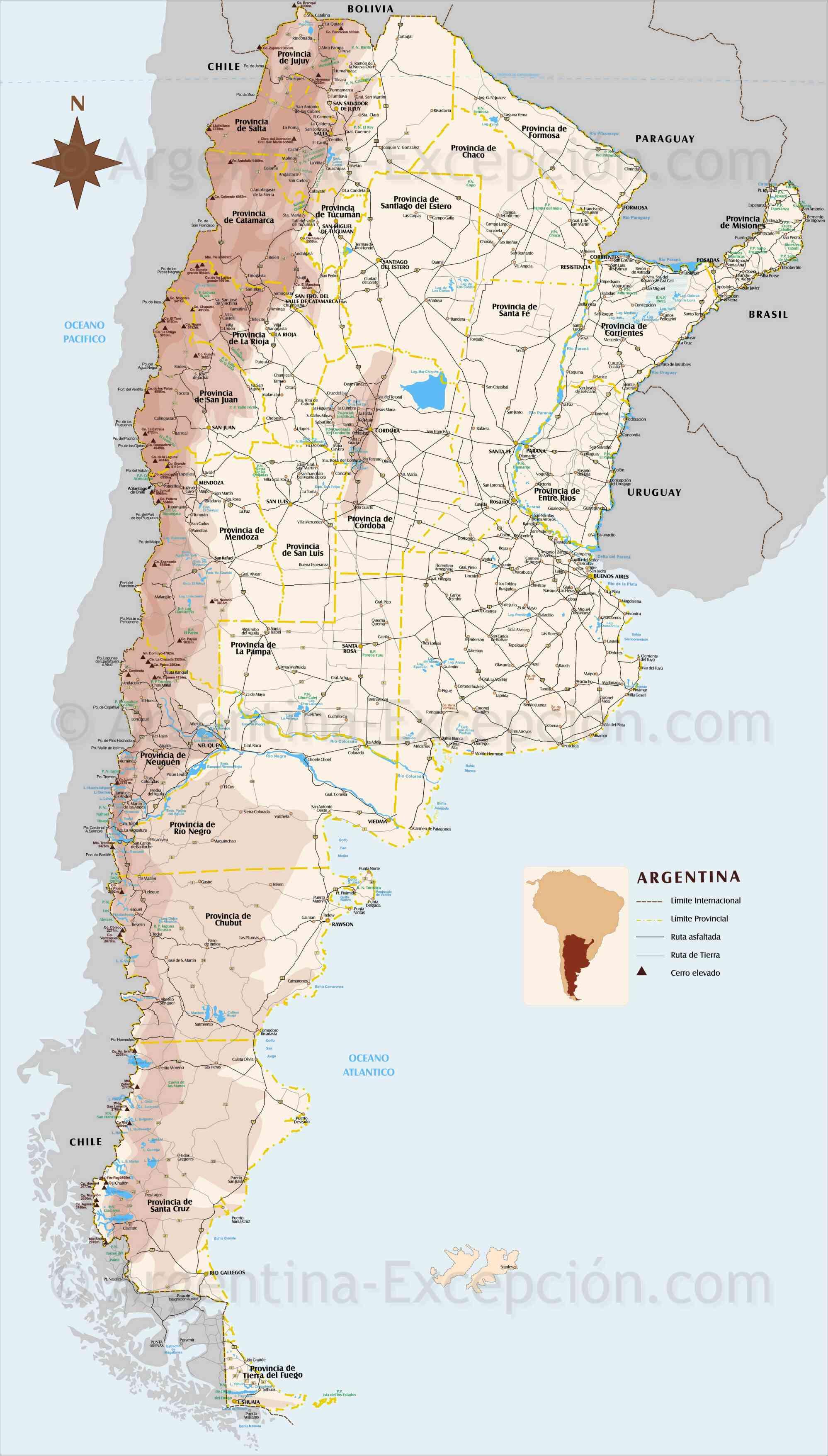 carte argentine