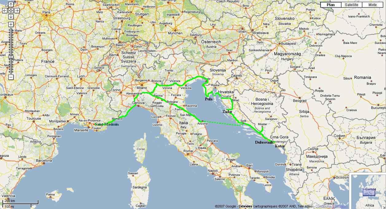 Carte Routiere Suisse Italie.Carte Routiere France Suisse Italie Beurshelp