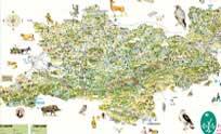 carte parc naturel regional du haut languedoc