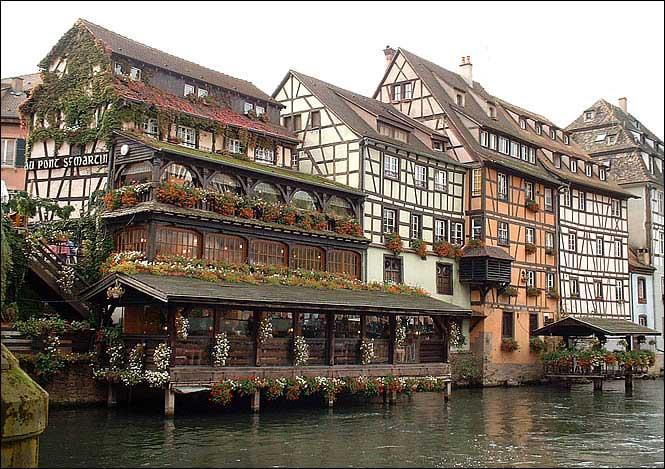 Carte - Ville de Strasbourg » Vacances - Arts- Guides Voyages
