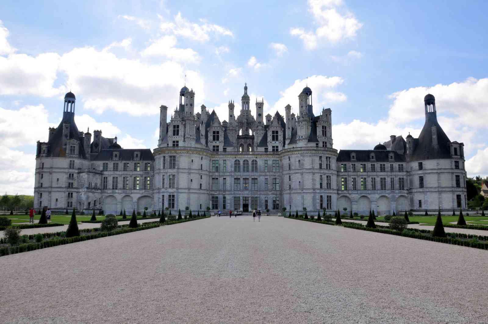 Ch teaux de la loire vacances arts guides voyages - Les plus beaux jardins des chateaux de la loire ...