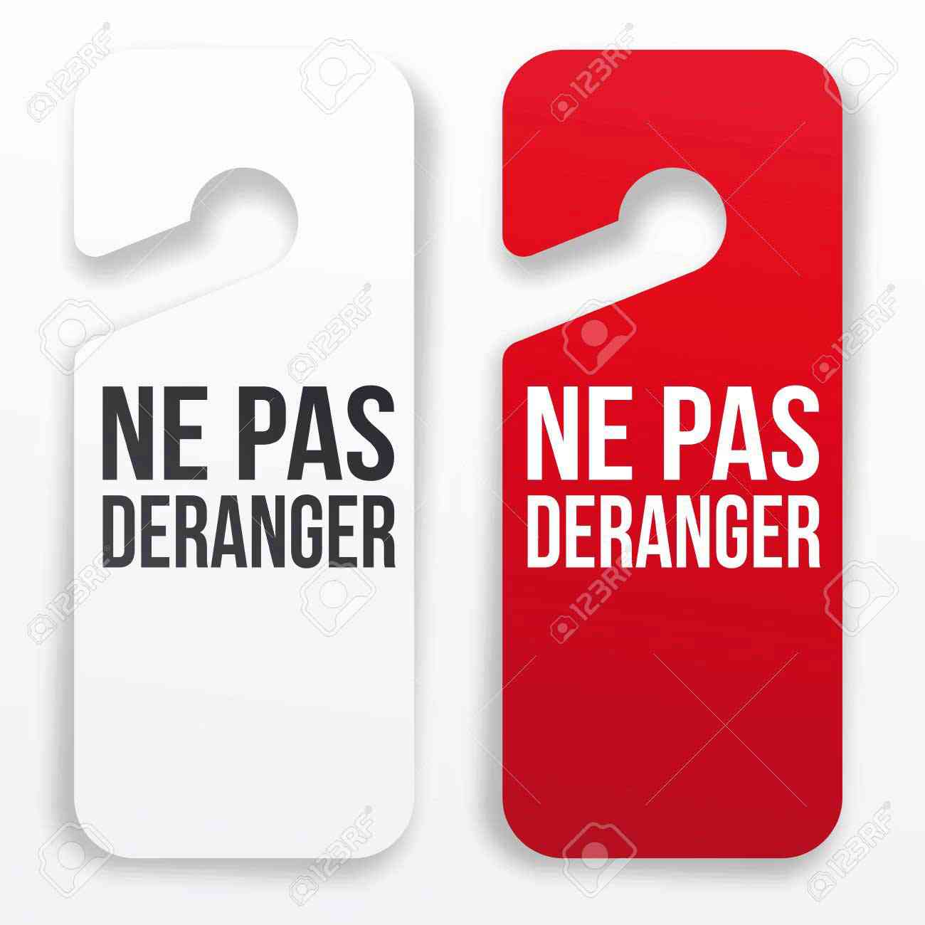collection ne pas deranger