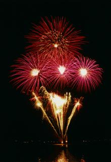 feu d artifice
