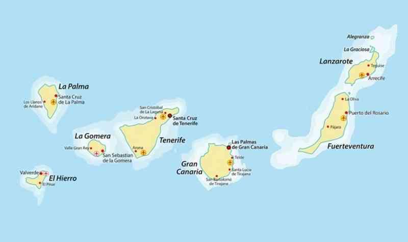iles canaries image de voyage
