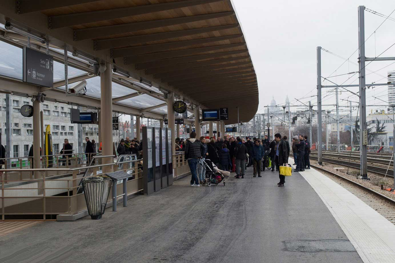 inauguration rer parisien