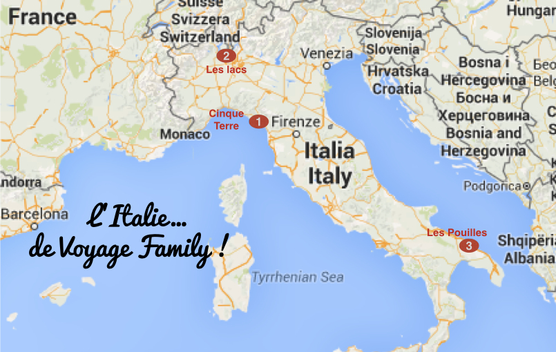 italie vacances