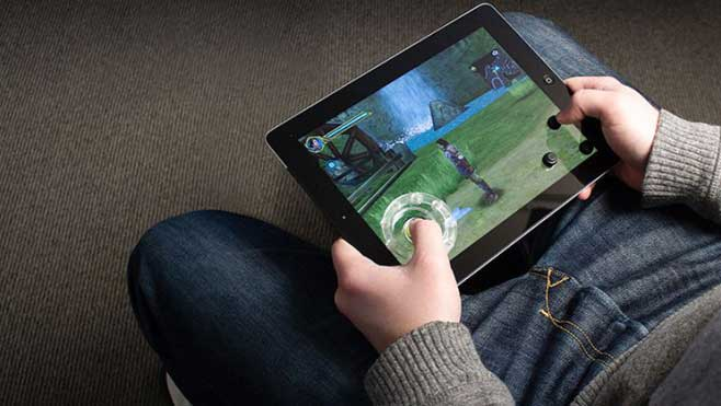 jeu sur tablette
