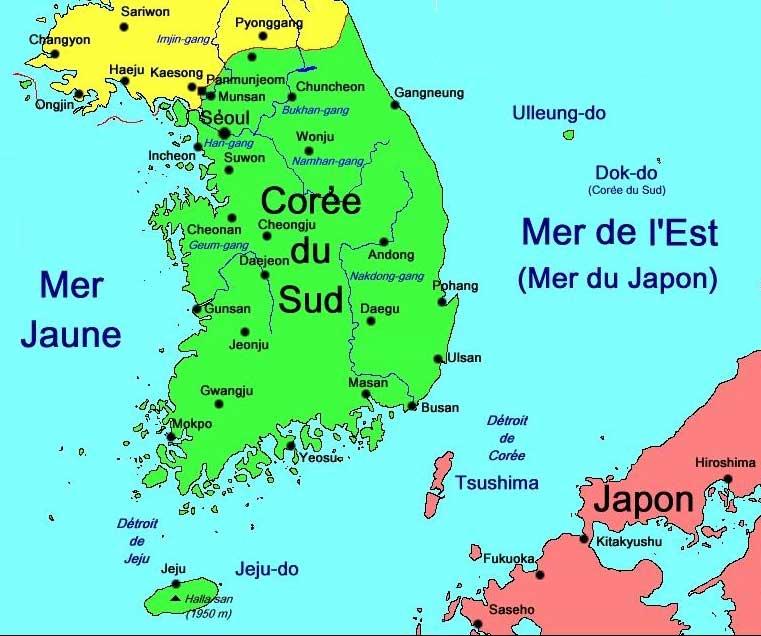 la coree du sud